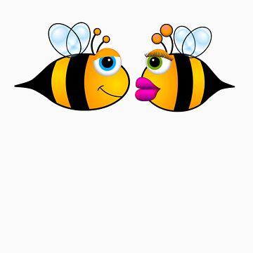 Bee Boy Bee Girl by M4H4RG