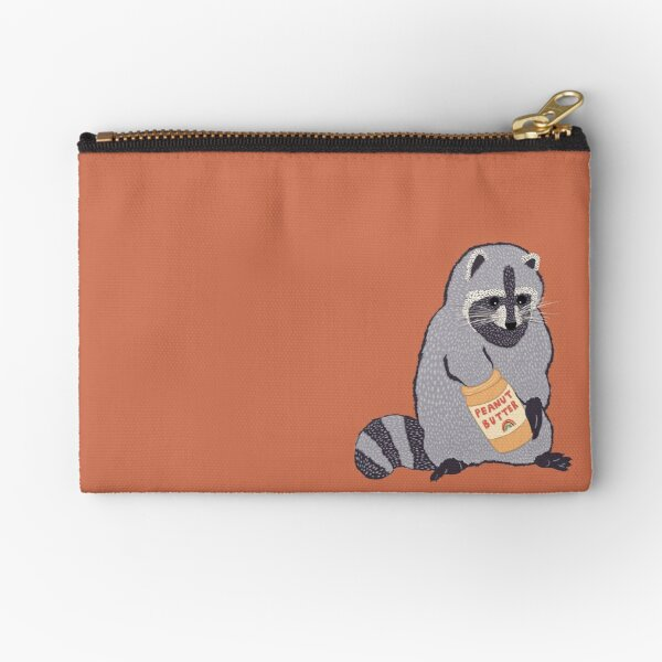 Tony the Trash Panda Zipper Pouch