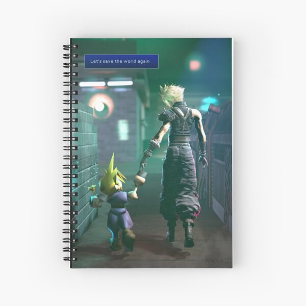 Let's save the world again Spiral Notebook