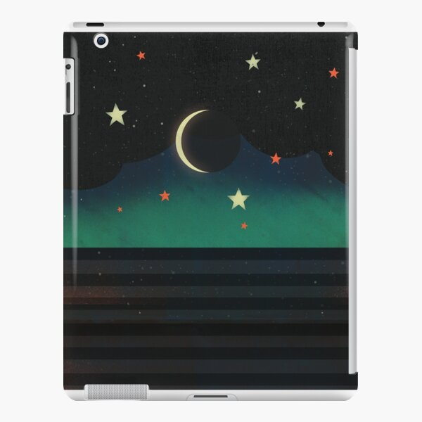 Abstract Moonscape iPad Snap Case
