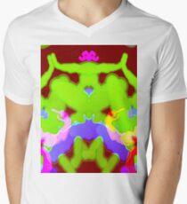 Fracturous Men's V-Neck T-Shirt