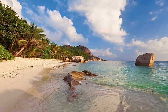 Anse Source D'Argent by Michael Breitung