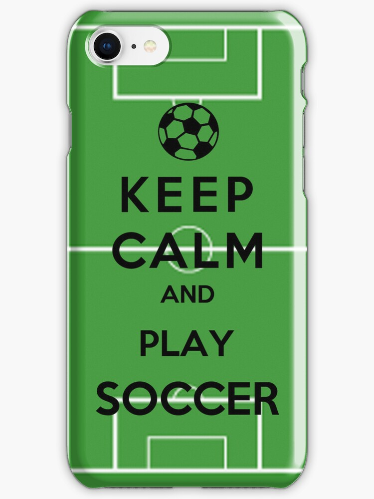 Keep Calm And Play Soccer by Miltossavvides