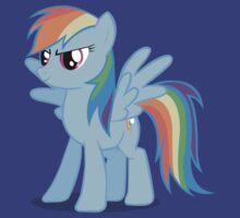 Rainbow Dash stance
