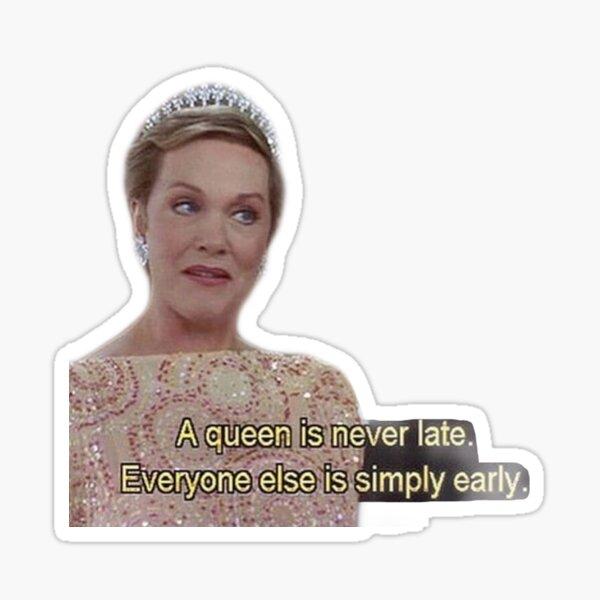 Queen of Genovia Sticker
