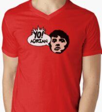 Yo! Adrian Raps Mens V-Neck T-Shirt