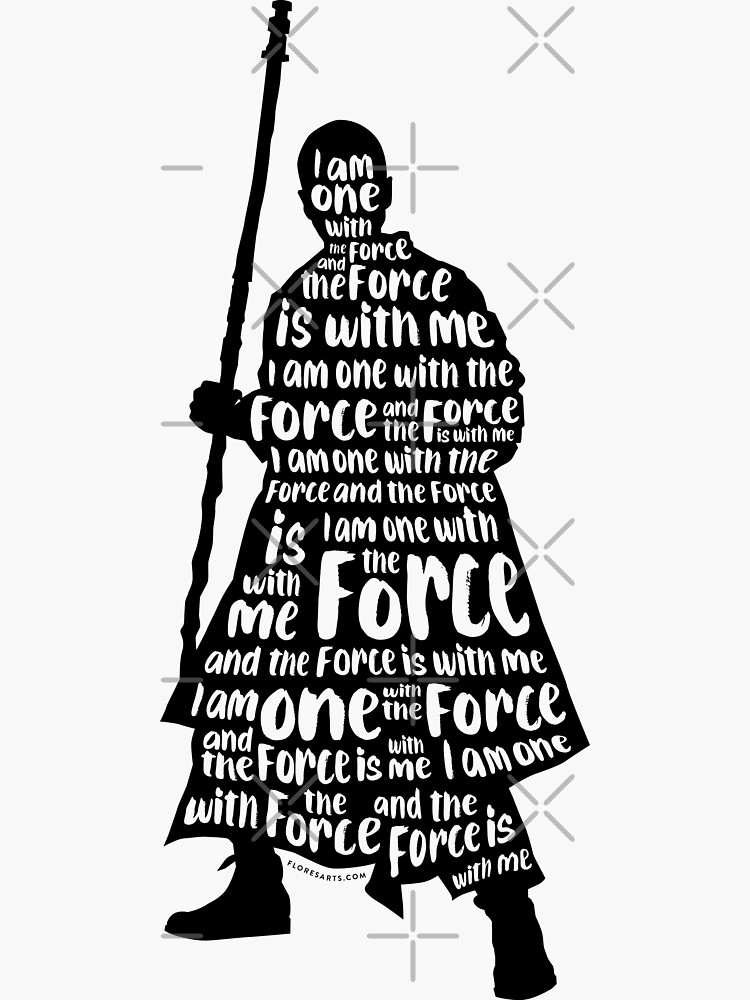 I Am One With the Force by floresarts