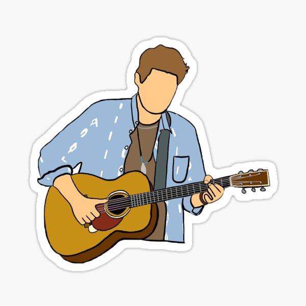 JM Guitar Sticker