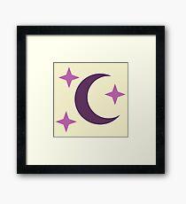My little Pony - Moon Dancer Cutie Mark Framed Print