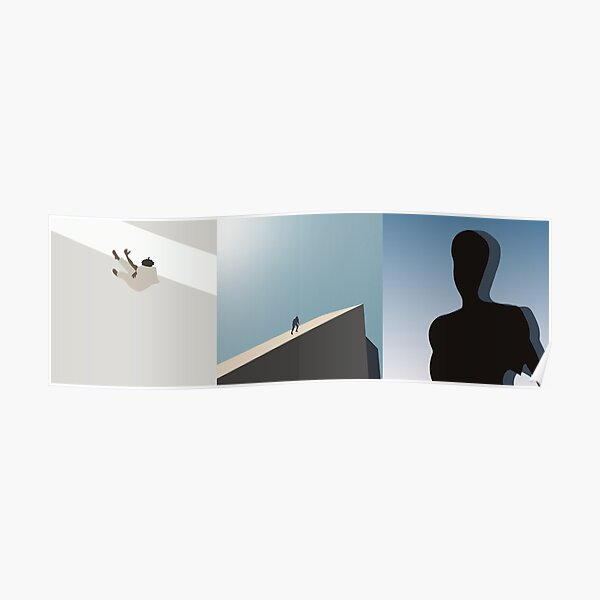 daniel caesar minimal album covers Poster