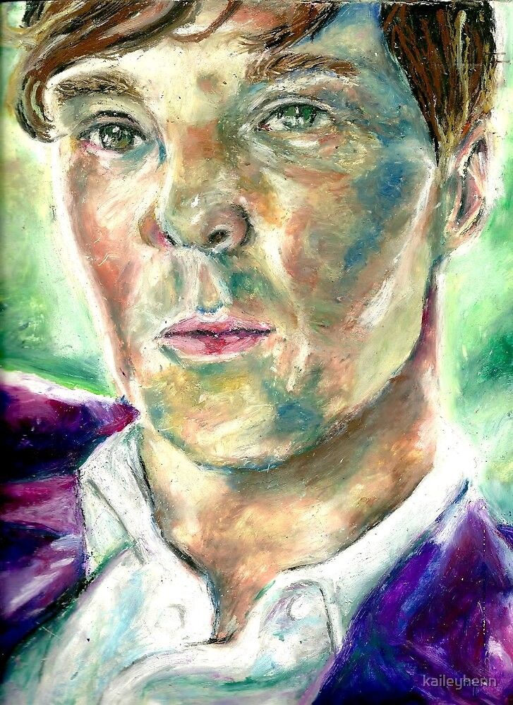 Benedict Cumberbatch by kaileyhenn