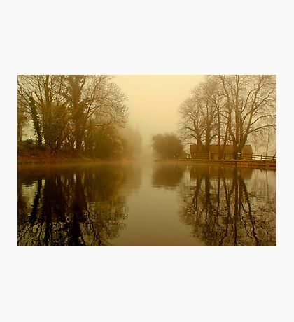 Drakeholes Morning Mist Photographic Print