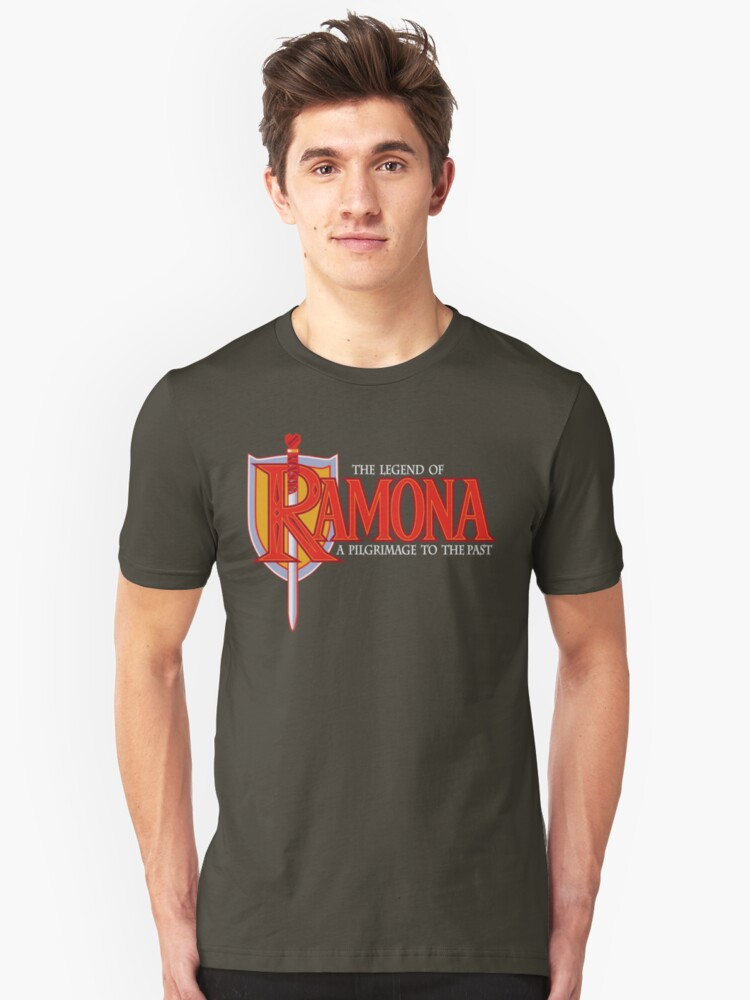 THE LEGEND OF RAMONA Unisex T-Shirt Front