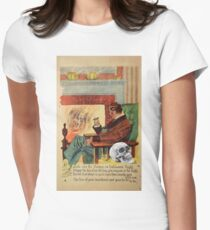 Trophy (Vintage Halloween Card) Women's Fitted T-Shirt