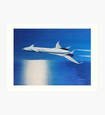 Boeing Sonic Cruiser Concept Aircraft Art Print