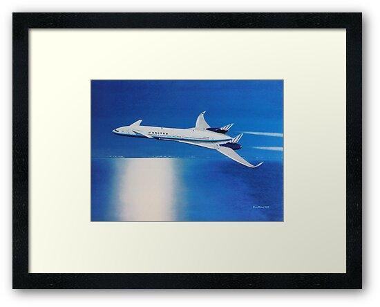 Boeing Sonic Cruiser Concept Aircraft by brianrolandart