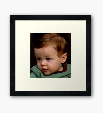 mommy said I was a gift... and the choice not to give birth to me was never an option... thank you mommy Framed Print