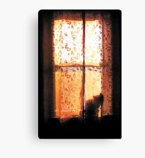 In the Glow of Day Canvas Print