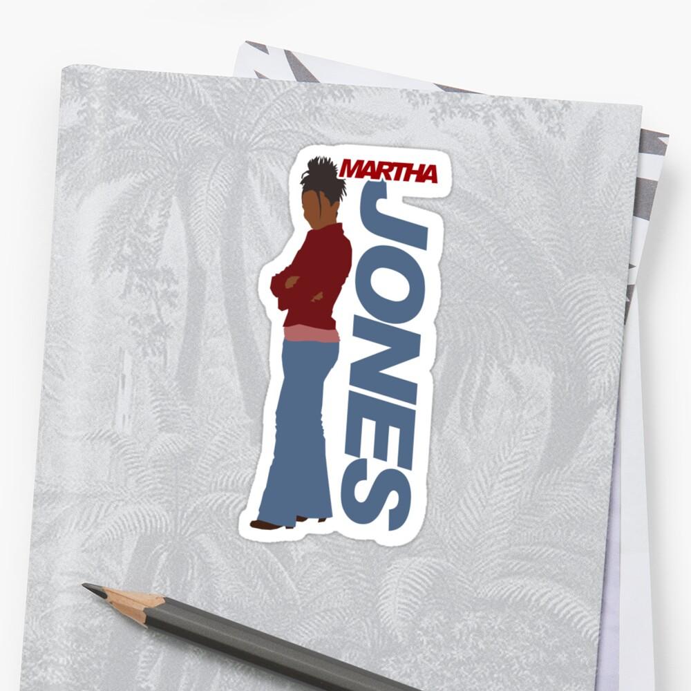 JONES. Martha Jones. by ideedido