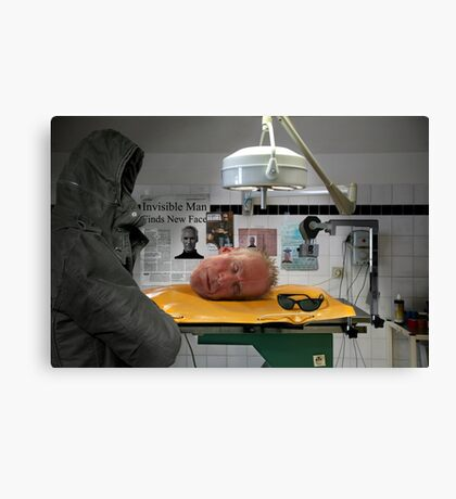 Hollow Man Canvas Print