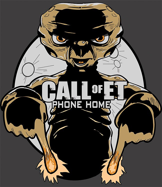 Call of ET: Phone Home by Kevin Yancey