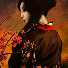 Geisha Series - With Quince by Jeff Burgess
