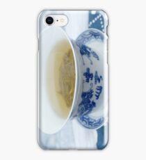 chinese green tea iPhone Case/Skin