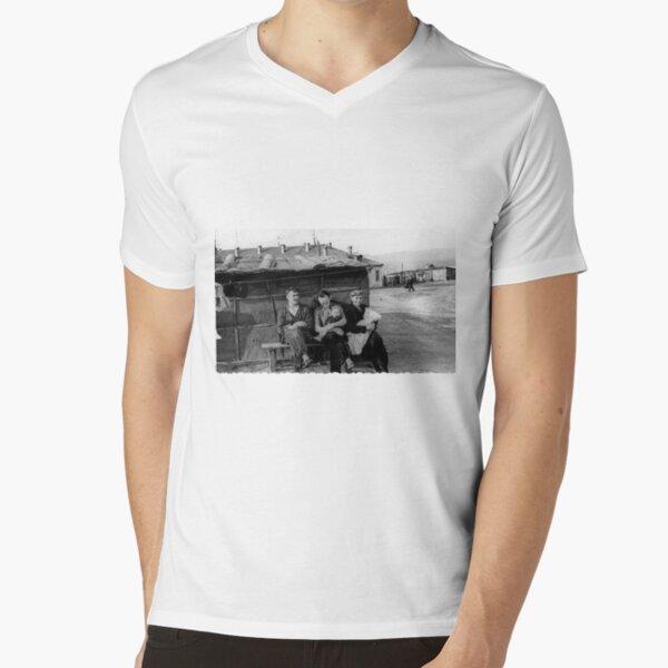 Norilsk Norillag V-Neck T-Shirt