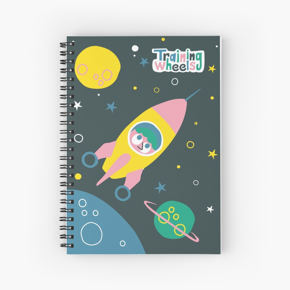 ¡Nos vamos a la luna!  Cuaderno de espiral