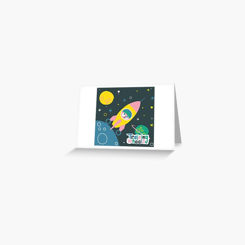 ¡Nos vamos a la luna!  Tarjetas de felicitación