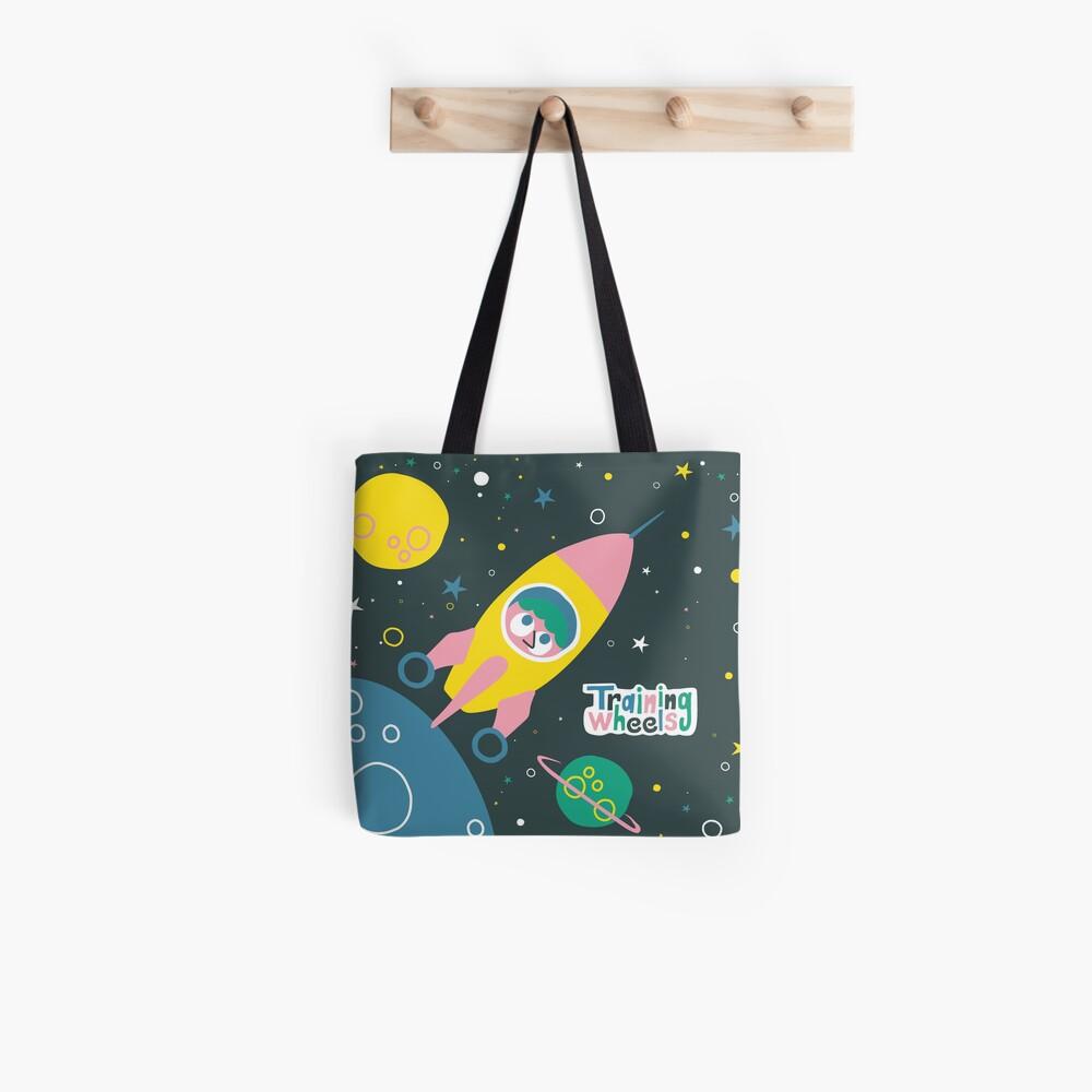 ¡Nos vamos a la luna!  Bolsa de tela