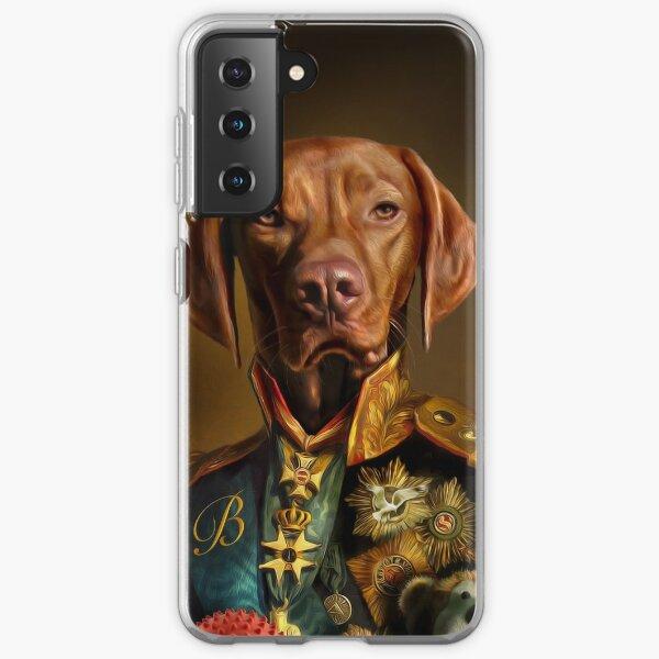 Bertie the Hungarian Vizsla - Dog Portrait Samsung Galaxy Soft Case