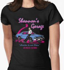Shannon's Garage Women's Fitted T-Shirt
