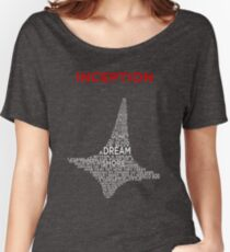 INCEPTION - A POEM WITHIN A TOTEM WITHIN A SHIRT Women's Relaxed Fit T-Shirt