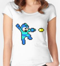 Blue Bomber Women's Fitted Scoop T-Shirt