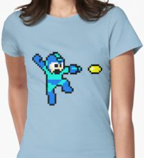 Blue Bomber Women's Fitted T-Shirt