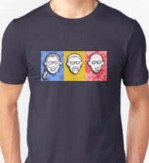 Davenport Johnson 3-color FACES design T-Shirt