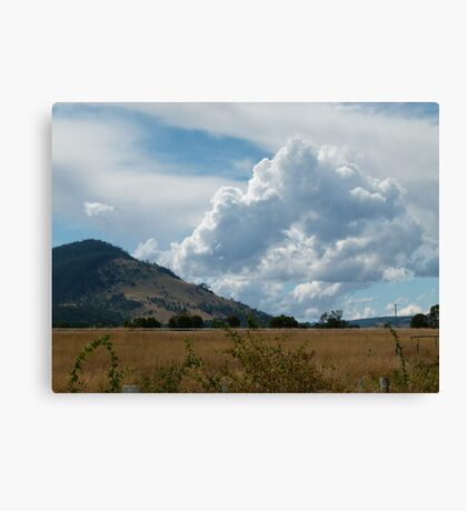 More Clouds Canvas Print