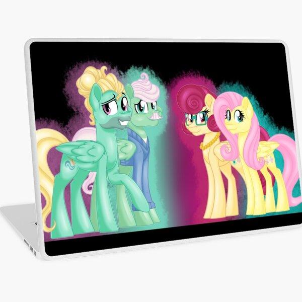 The Shy Family Portrait Laptop Skin