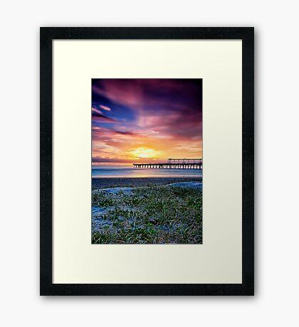 Sunrise of Hope Framed Print