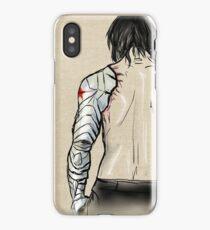 Bucky's Back.  iPhone Case