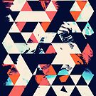 Geometric Paint Triangles by FakeFate
