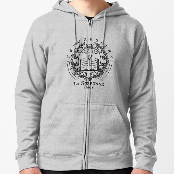Universites Paris La Sorbonne, 1253, Paris, Sorbonne, University, Universite, La Sorbonne, Logo, Classic Zipped Hoodie