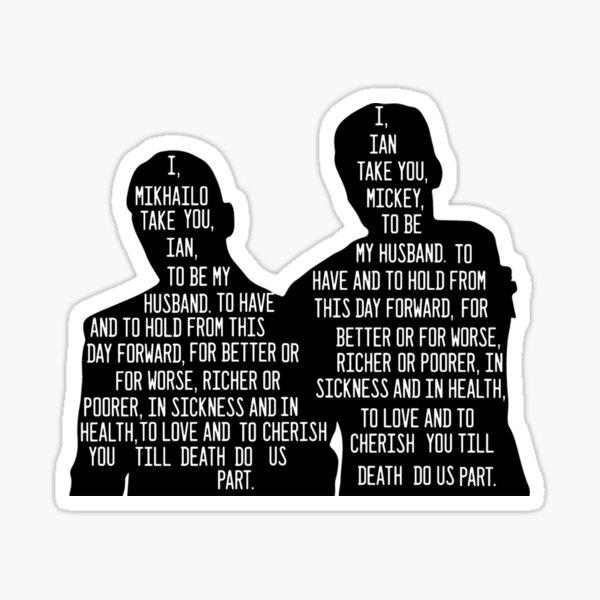 Vows Sticker
