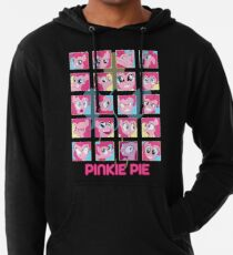 The Many Faces of Pinkie Pie Lightweight Hoodie