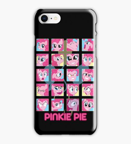 The Many Faces of Pinkie Pie iPhone Case/Skin