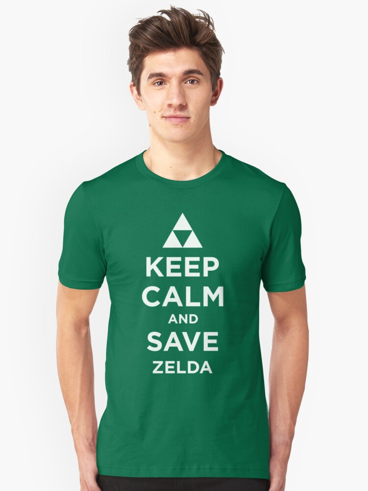 Keep Calm and Save Zelda by roomiccube