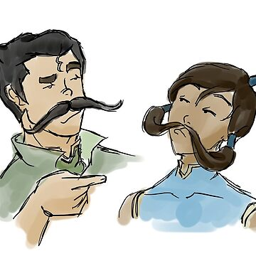 Stache Bros by elventhespian