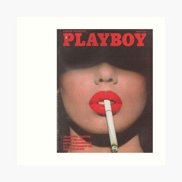 Vintage Playboy Art Print