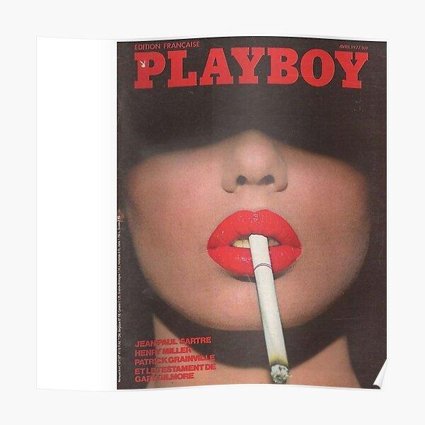 Vintage Playboy Poster